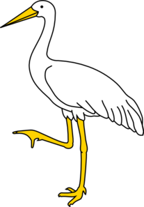 Our logo, the crane